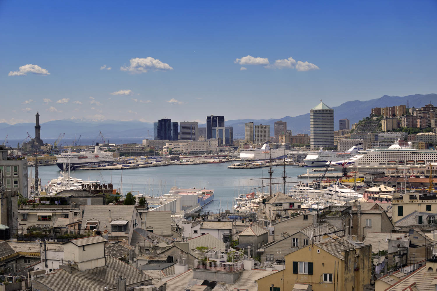 Genova - View from Palazzo Rosso
